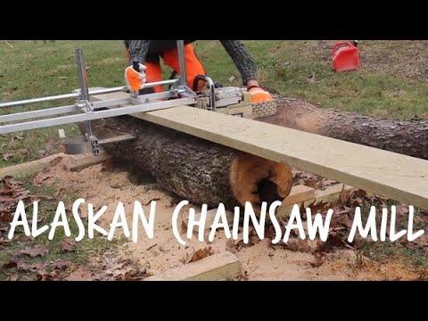 Granberg Alaskan Chainsaw Mill!