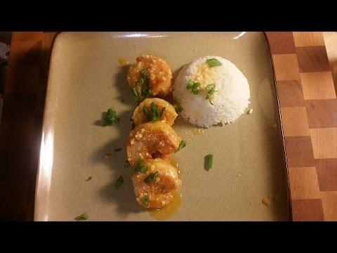 Hawaiian Garlic Shrimp - Super Easy Recipe