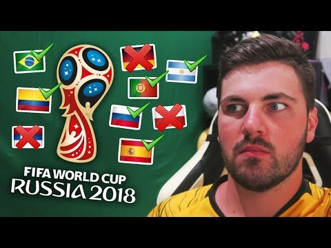 REACTING TO MY WORLD CUP GROUP STAGE PREDICTIONS!!!