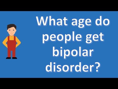 What age do people get bipolar disorder ? |Mostly Asked Health Questions & Answers