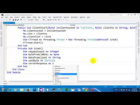 How to Making Chat Server in VB NET 2012 Part1
