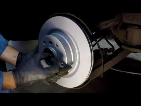 Replacing BMW 3 Series Rear Brakes