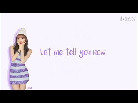 TWICE - I WANT YOU BACK Lyrics (Eng) Color Coded