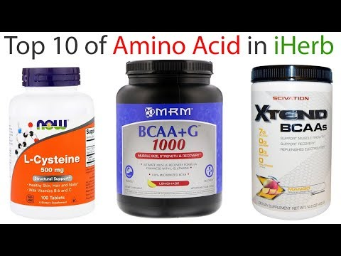 Top 10 - Best Selling Amino Acid Supplement in iHerb - 2018