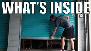 I Bought An Abandoned Storage Locker for $25! ... Look What I Found!