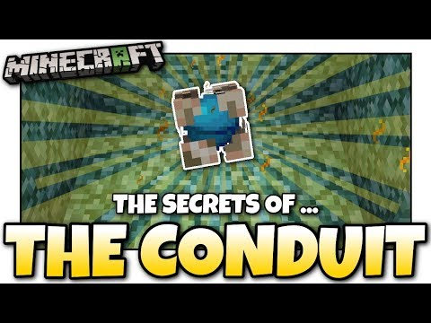 Minecraft - WHAT IS THE CONDUIT ? New Beacon - EXPLAINED ! MCPE / Console / Bedrock / Java