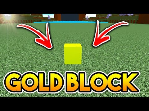 *NEW UPDATE* GOLD BLOCK!   Build A Boat For Treasure ROBLOX
