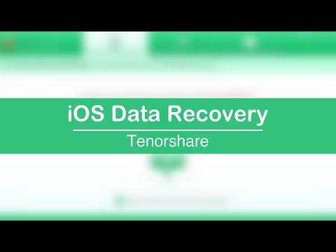 Recupera archivos perdidos de tu Phone, iPod & iPad o Backup   Tenorshare iOS Data Recovery