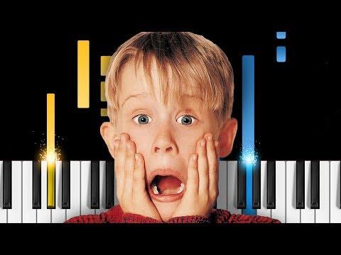 Home Alone - Main Theme - EASY Piano Tutorial