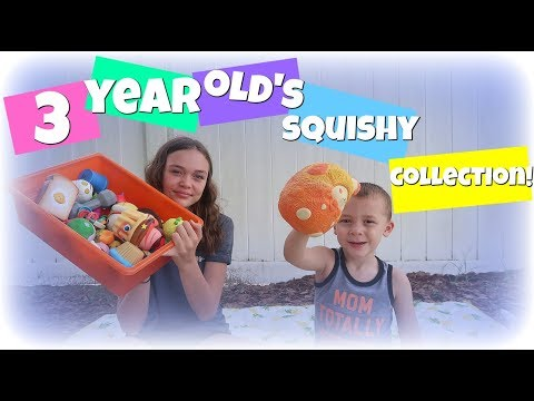 3 YEAR OLD'S HUGE SQUISHY COLLECTION!