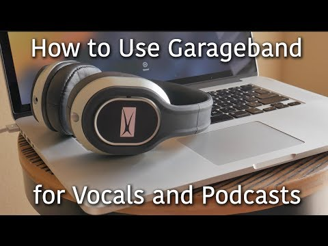 How to Record Vocals and Podcasts on Garageband | Easy USB Mic Setup