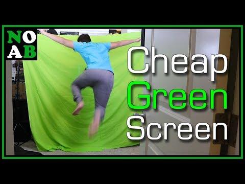 Yay Green Screen!