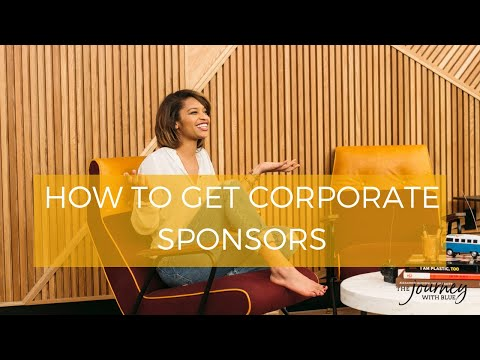 Blues Clues: How to get corporate sponsors for your blog