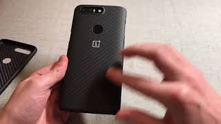 Official OnePlus 5T Protective Case Karbon Unboxing and Review