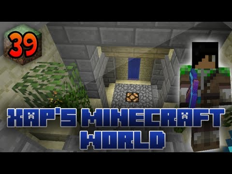 Xap's Minecraft World: 39 - Sandstone Staircase