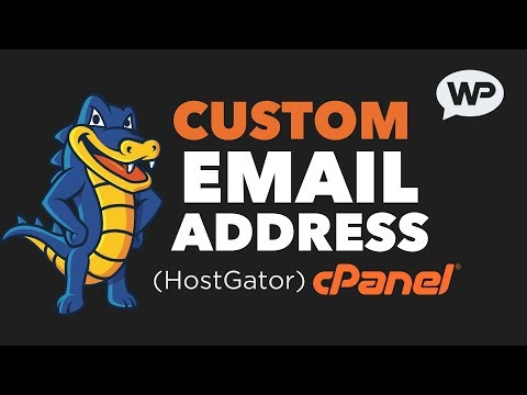 How to Create a Custom Email Address | using cPanel