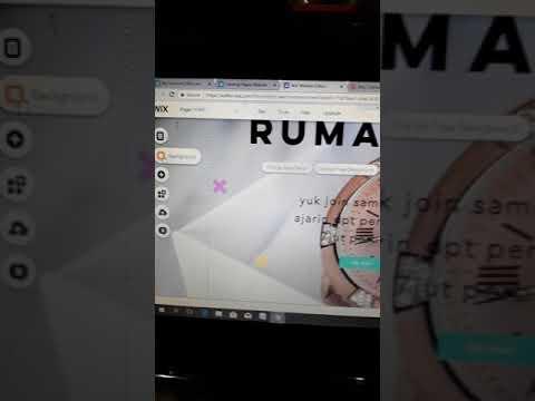 cara membuat landing page di wix.com part 1