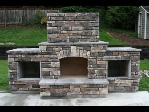 DIY - Building an outdoor fireplace