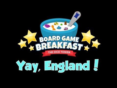 Board Game Breakfast  - Yay, England!
