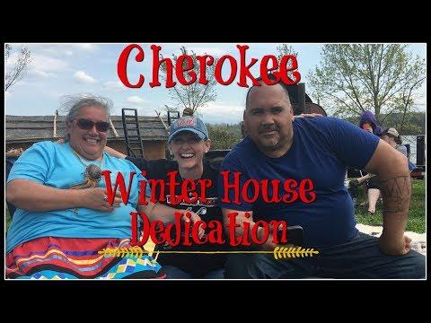 Cherokee Winter House Dedication~For Eagle Woman