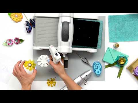 How to Use Sizzix Thermoplastic for Mixed Media Projects | Jen Long
