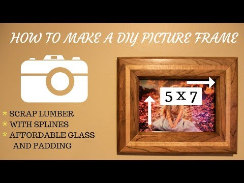 How To Make A DIY Picture Frame