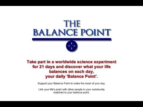 Balance Point Experiment