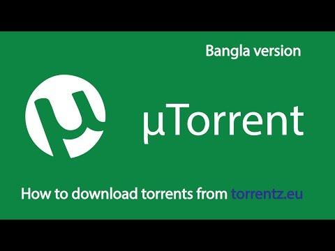 How to download torrents from torrentz.eu using uTorrent (Bengali Version)