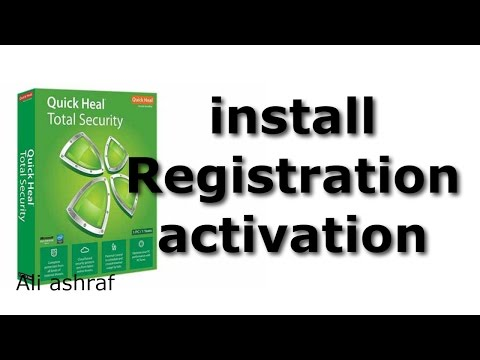 quick heal total security Install Registration activation key