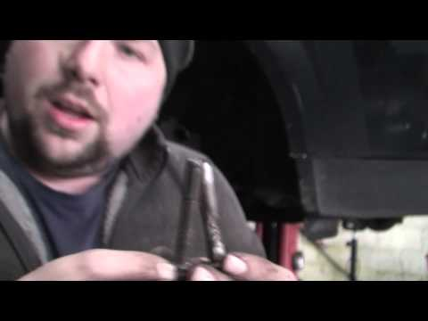 bodgit and leggit garage how to do ford mondeo front pads + disc (part 2)