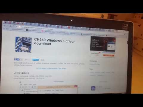 Upgrading Ardiuno drivers to CH340 chipset. IOT Part #6