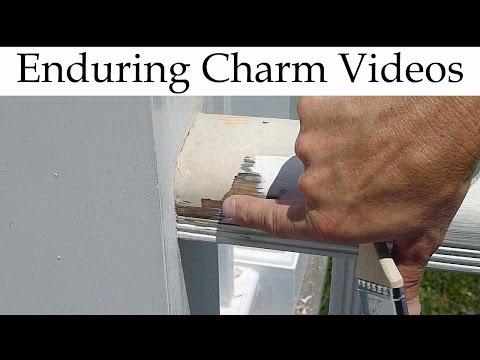 How To Repair Rot: Cedar Deck Railing