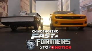 Transformers Fast & Furious STOP MOTION episode 1