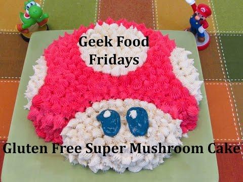 Geek Food Friday: Super Mushroom Cake