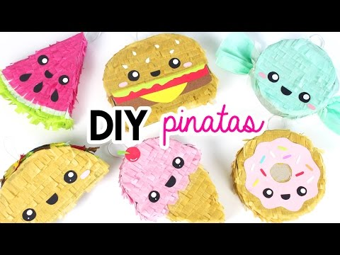 How to Make DIY Mini Pinatas! 💖