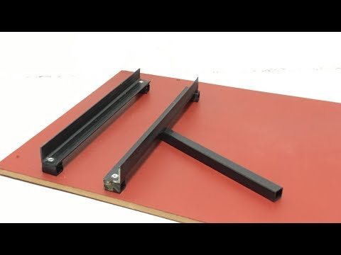 Make a Circular Saw Crosscut Miter Jig