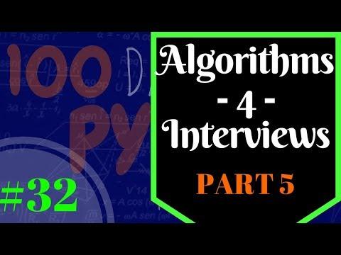 Python Array Algorithms for Job Interviews