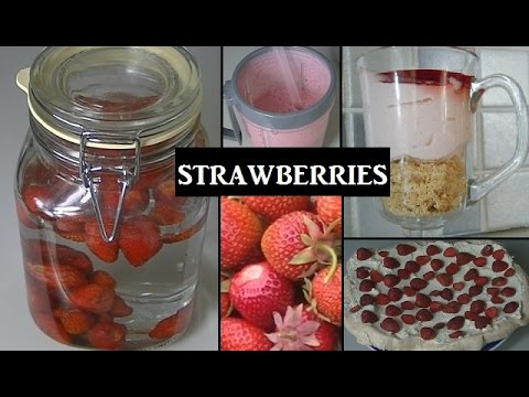 What To Do With A Glut Of Strawberries