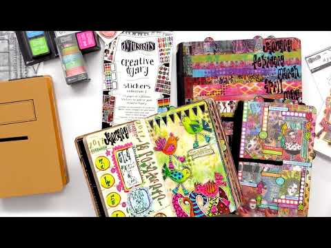 Dyan Reaveley Introduces the Creative Dyary Collection from Ranger Ink
