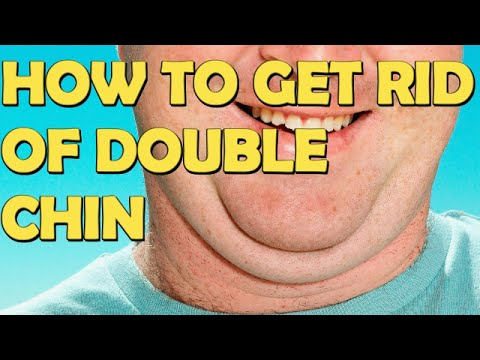 8 Ways To Get Rid Of Double Chin Fast And Easy At Home