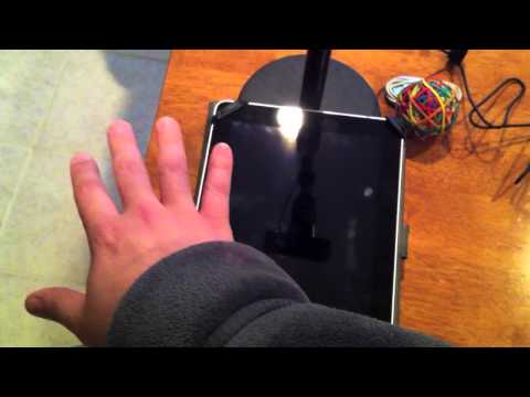 Simple camera rig for presenting iPhone/iPad device on a projector