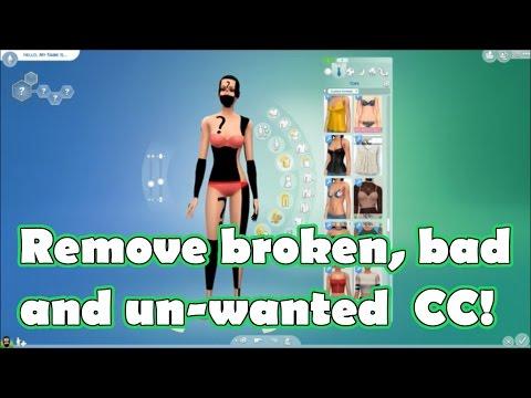 Remove Custom Content! || Sims 4 ~ Tutorials