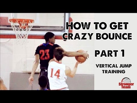 How to Get a Crazy Vertical Jump for Basketball - Part 1