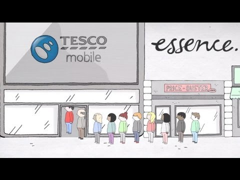 Essence - Tesco Mobile's New Online Shop