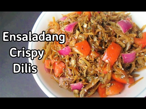 Ensaladang Crispy Dilis