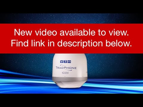KVH Introduces TracPhone V7HTS - Leisure Video