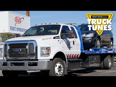 Tow Truck for Children | Kids Truck Video - Tow Truck
