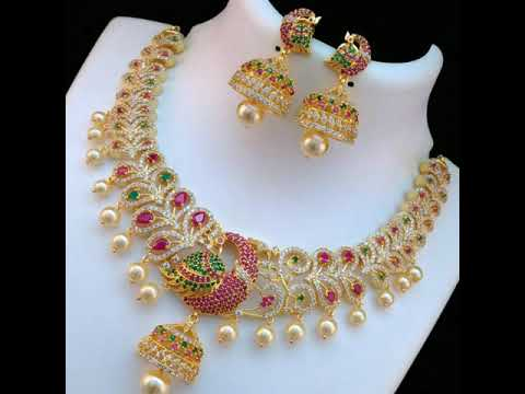 Latest 1 gram gold jewelry with price || 1 gram gold jewelry with price