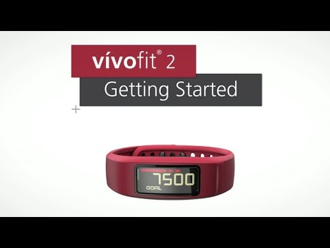Garmin vívofit 2: Getting Started