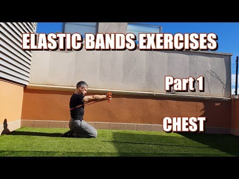 100 RESISTANCE BANDS EXERCISES | PART 1: CHEST